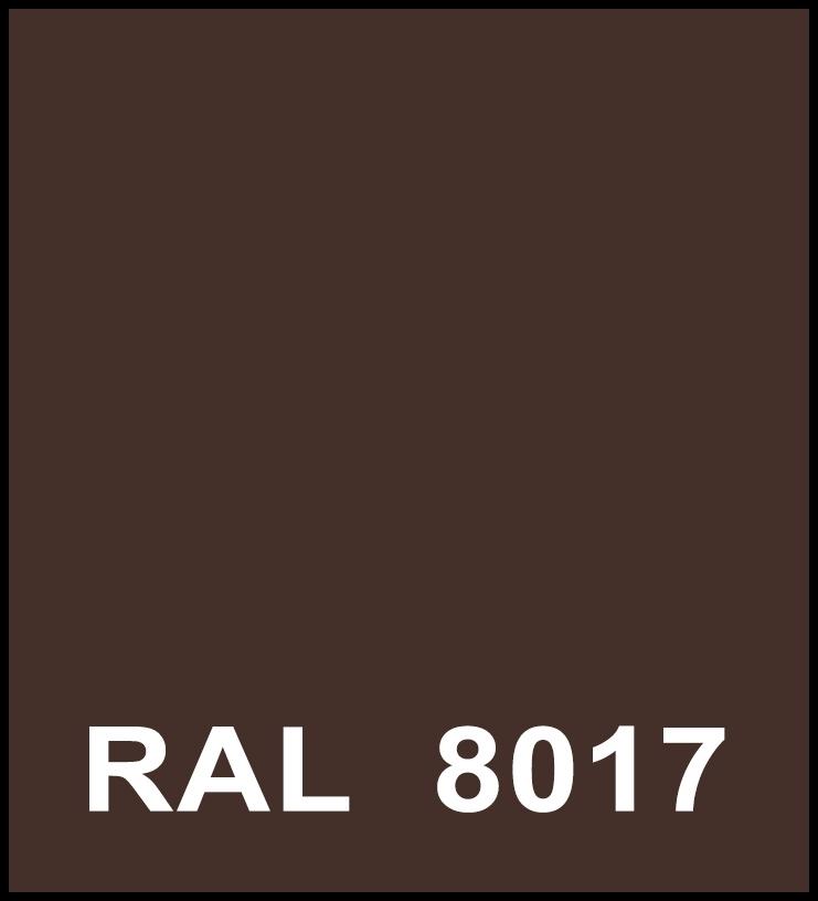 цвет по Ral 8017