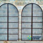Москитные сетки арочной формы